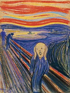 The Scream, Edvard Munch 1895