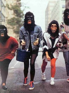 Guerrilla Girls - speaking out, acting out!